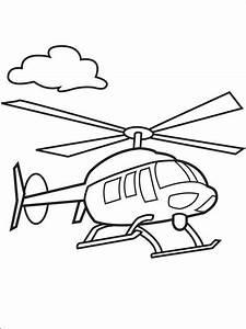 Malvorlagen, Hubschrauber, Ausmalbilder