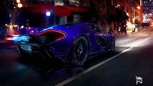 McLaren P1 In Blue Wallpapers HD Wallpapers ID 12270
