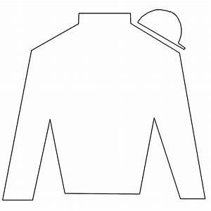 free jockey silks lineart by zephyrra on deviantart With jockey silks template