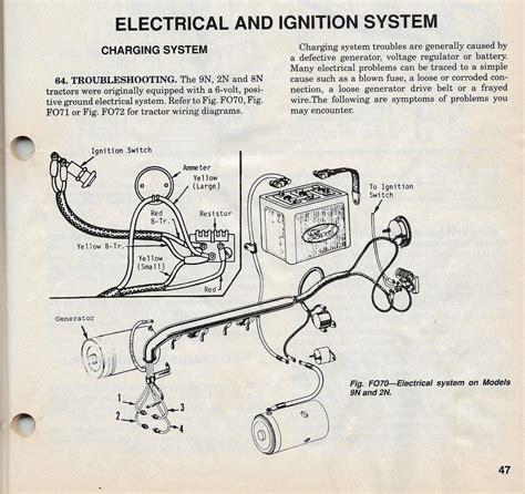 6 Volt Generator Wiring Diagram 1950 Mercury by 1949 Ford 6 Volt Wiring Diagram Wiring Diagram