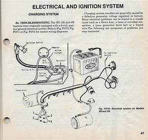 Bg 0589  Ford Tractor 6 Volt Positive Ground Wiring