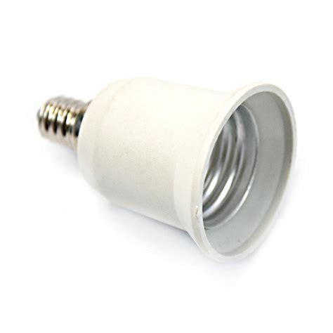 5x e12 to e27 candelabra base led light standard bulb l