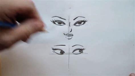 draw cartoon female eyes curiouscom