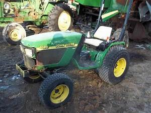 John Deere 4100 Tractor Salvaged For Used Parts  This Unit