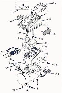 Campbell Hausfeld Fp204900 Parts List And Diagram