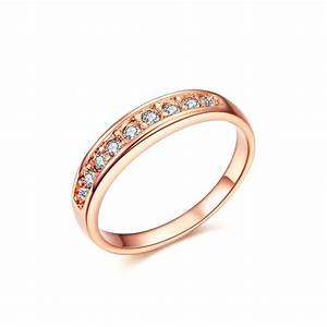 j122 rose gold ring women jewelry wedding ring with With rose gold wedding rings women