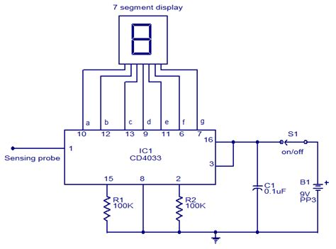 Wireless Mains Voltage Tester Electronic Circuits