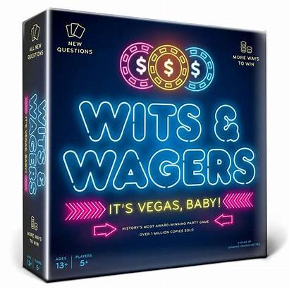 Wagers Wits Vegas Board Games Edition North