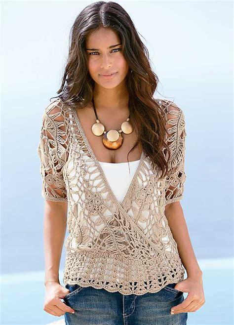 summer blouse 49 best crochet blouse images on crochet