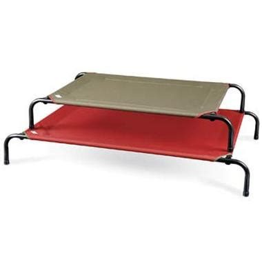 27419 coolaroo elevated pet bed your can chill out on coolaroo s cooling bed this