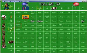 football squares on pinterest football fantasy football With football betting pool template