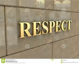 Respect Letter Words
