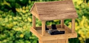 Vogelhaus Bauen Mit Kindern Anleitung : vogelfutterhaus selber bauen heimwerker ~ Watch28wear.com Haus und Dekorationen