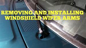 Removing And Installing Windshield Wiper Arms 80