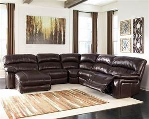 brown leather sectional recliner sofa with chaise lounge With sectional sofas no chaise