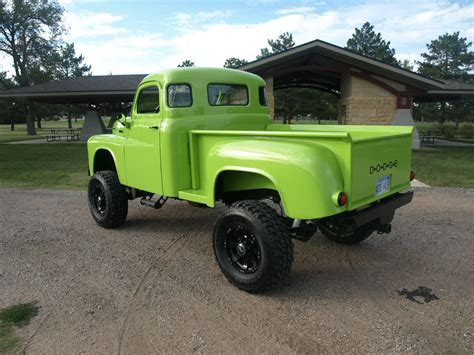 1949 Dodge Pickup 4wd Custom 4x4  Classic Dodge Other