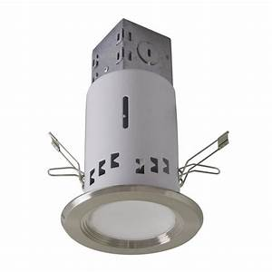 Utilitech pro brushed nickel led remodel recessed light