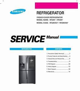 Samsung Rf25hmedbsr Rf25hmedbbc Rf25hmedbww Refrigerat