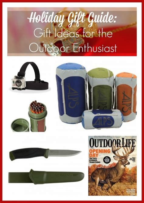 Holiday Gift Guide Gift Ideas For The Outdoor Enthusiast