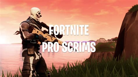 fortnite battle royale pro scrims  custom matchmaking