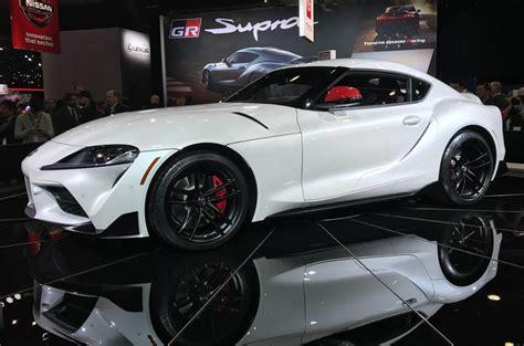 toyota supra unveiled  detroit motor show autocar