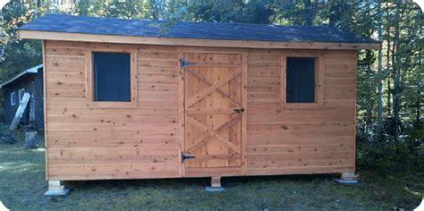 white cedar shed white cedar sheds kaza cabana