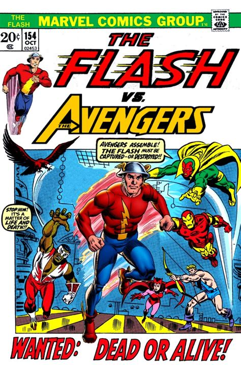The Flash Vs The Avengers! By Gwhitmore On Deviantart