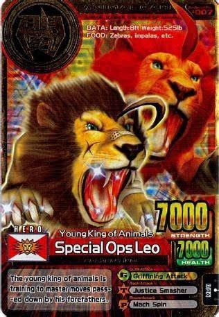 special ops leo animal kaiser wiki fandom powered  wikia