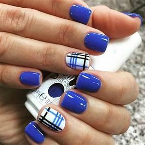 Acrylic Nails Designs Blue | www.pixshark.com - Images ...