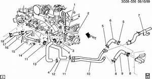 Oldsmobile Aurora Hoses  U0026 Pipes  Heater