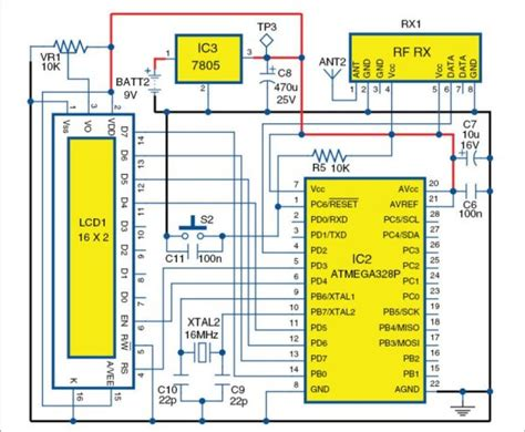 Microcontroller Projects Fridge Temperature Humidity