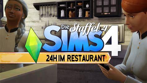 24h Im Restaurant Eingesperrt?! ★ Die Sims 4  Let's Play