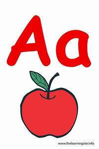 the learning site With letter a flashcards with pictures