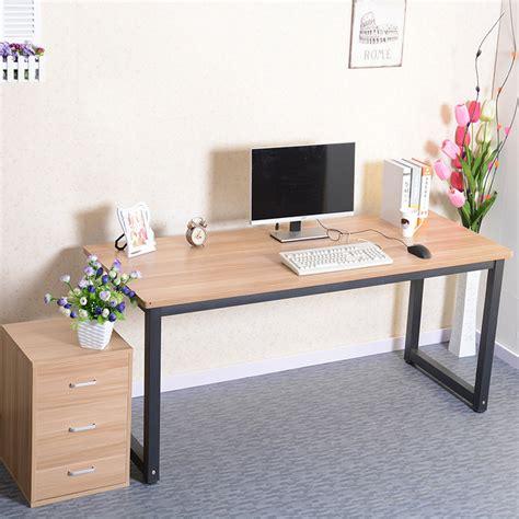 long desks for home office simple rounded computer desk long table conference desktop