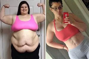 Woman reveals transformation after shedding 15 stone in ...