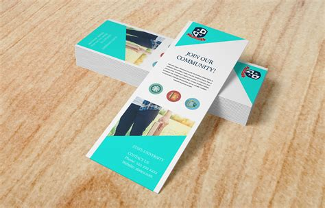 business card bookmarks choice image business card template