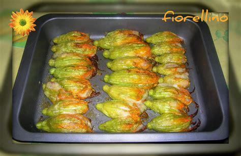ricetta fiori zucca ripieni fiori di zucca ripieni al forno chi non mangia in