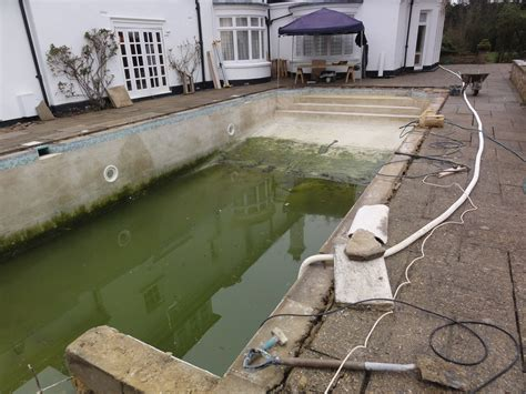 Renovation Of Old Pool And Installation Of Safety Cover