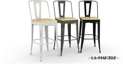 chaises tolix pas cher tabouret haut 65 cm bricolage maison et décoration