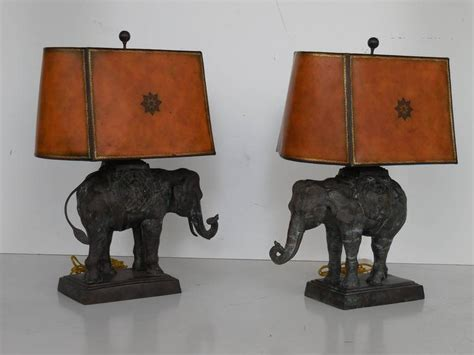 pair of large bronze elephant ls by maitland smith at 1stdibs