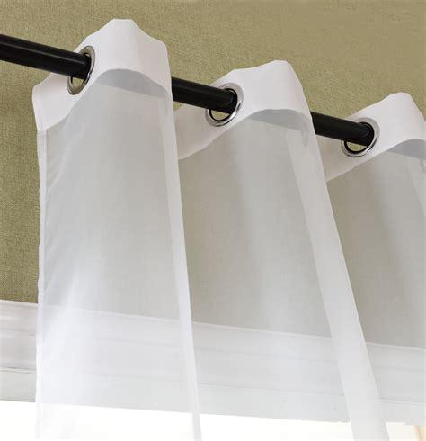 Vorhänge Schals Günstig by Vorhang Transparent Schal 214 Sen Gardine Voile Farbverlauf