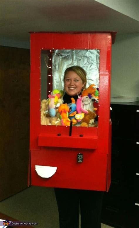 Stuffed Animal Claw Machine - Halloween Costume Contest at ...