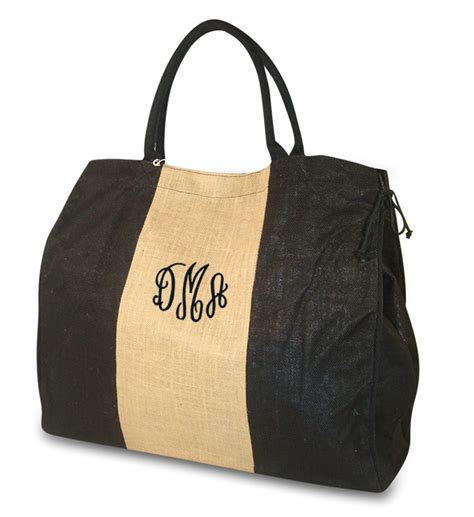 monogrammed tote bags  fashion bags