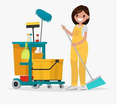 Cleaning Cartoon Clean Office Company Transparent