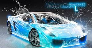 Lamborghini Aventador Blue Neon Wallpaper | Lamborghini ...