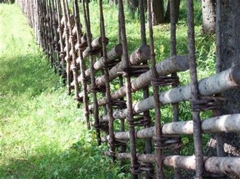 tree branch lattice  fence