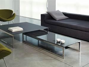 Gallotti Radice : rectangular crystal coffee table square by gallotti radice design ricardo bello dias ~ Orissabook.com Haus und Dekorationen