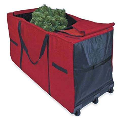 christmas tree storage bag heavy duty container with