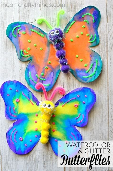 how to make a gorgeous butterfly craft crafty ideas for 290 | 8f5b4a0867961a3d074eead6a83fbbc4 butterfly craft for kids preschool butterfly crafts