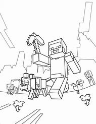 Best Minecraft Coloring Pages - ideas and images on Bing | Find what ...